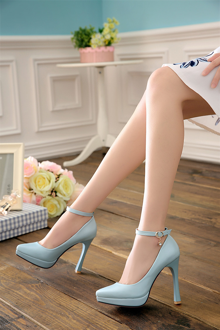 beige pink blue high heel platform wedding shoes my