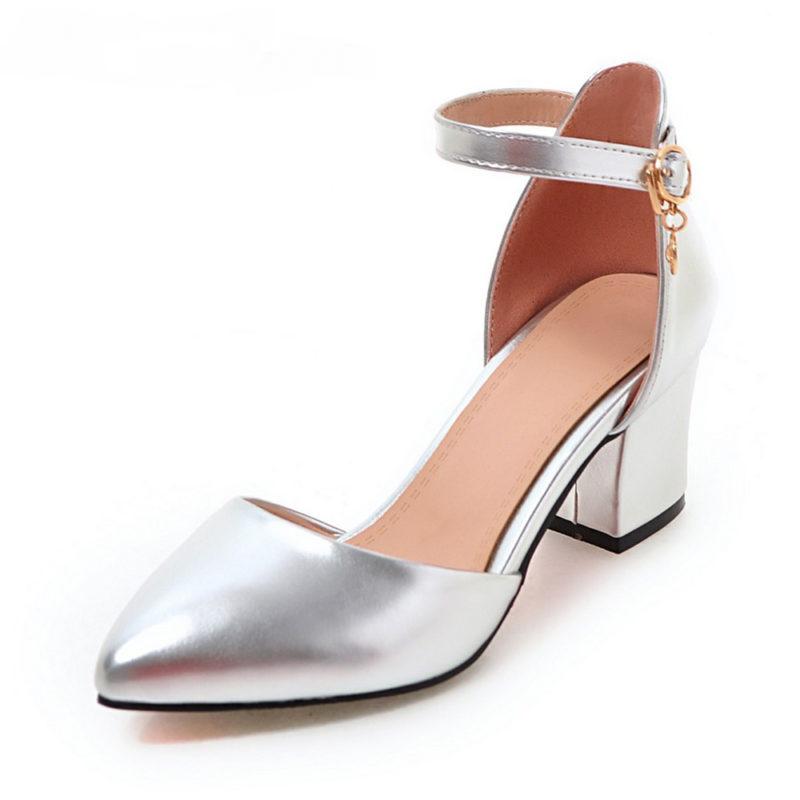 Thick Heel Wedding Shoes