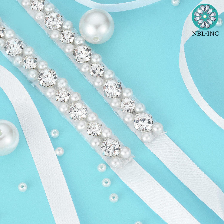 (1PC)Rhinestone Bridal belt wedding with crystal diamond wedding dress accessories belt sash for wedding dress WDD1043